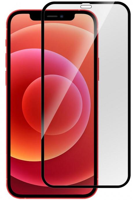 Aizsargstikls Apple iPhone 12 mini Full black (Pro) 0
