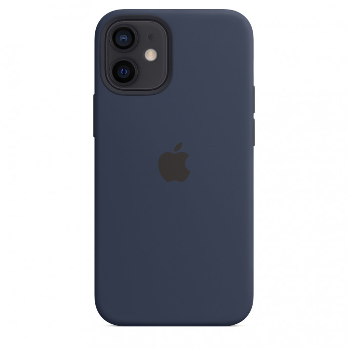 iPhone 12 mini Silicone Case with MagSafe - Deep Navy 4