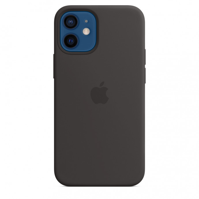 iPhone 12 mini Silicone Case with MagSafe - Black 0