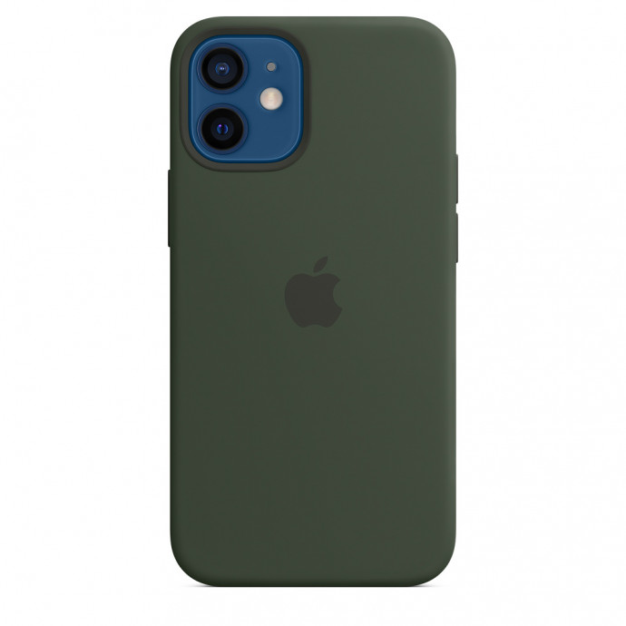 iPhone 12 mini Silicone Case with MagSafe - Cyprus Green 0