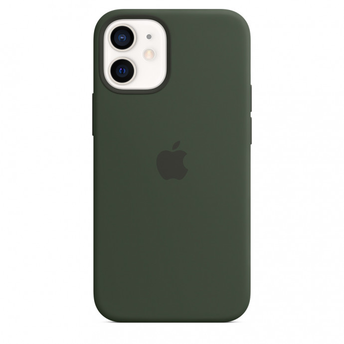 iPhone 12 mini Silicone Case with MagSafe - Cyprus Green 2
