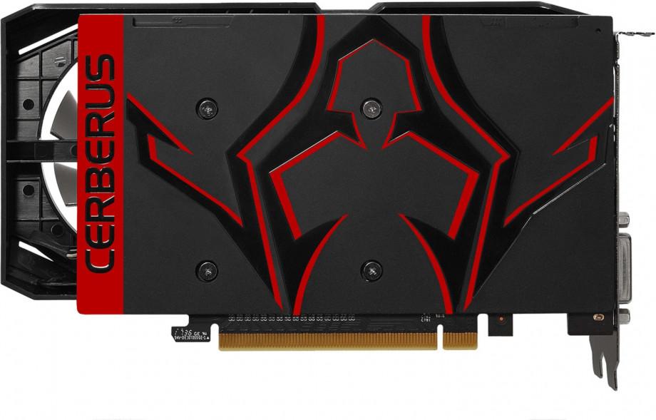 Videokarte ASUS NVIDIA GeForce GTX 1050 Ti CERBERUS 4GB 3