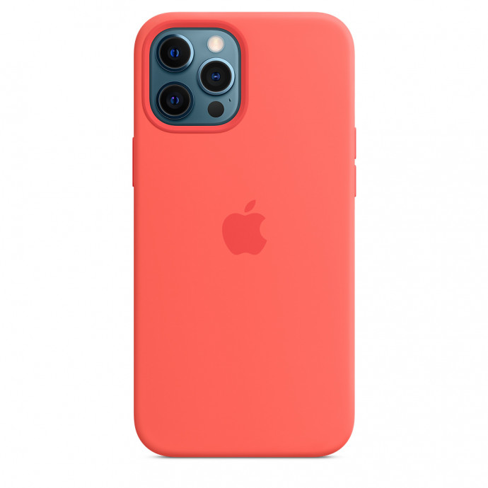 iPhone 12 / 12 Pro Silicone Case with MagSafe - Pink Citrus 0