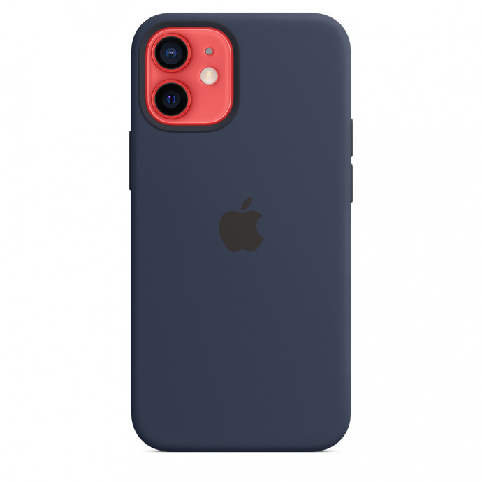 iPhone 12 mini Silicone Case with MagSafe - Deep Navy 2