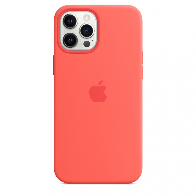 iPhone 12 / 12 Pro Silicone Case with MagSafe - Pink Citrus 3