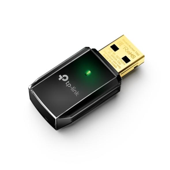 Bezvadu adapteris TP-Link Archer T2U adapter USB Wireless 1