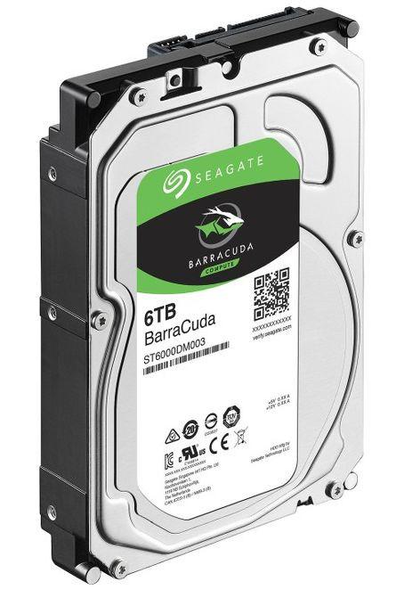 Cietais disks Seagate Barracuda ST6000DM003 5400 RPM, 6TB 1