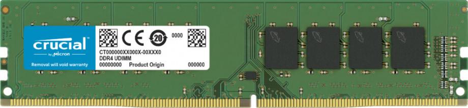 Atmiņa Crucial 4GB DDR4 2666MHz DIMM 0