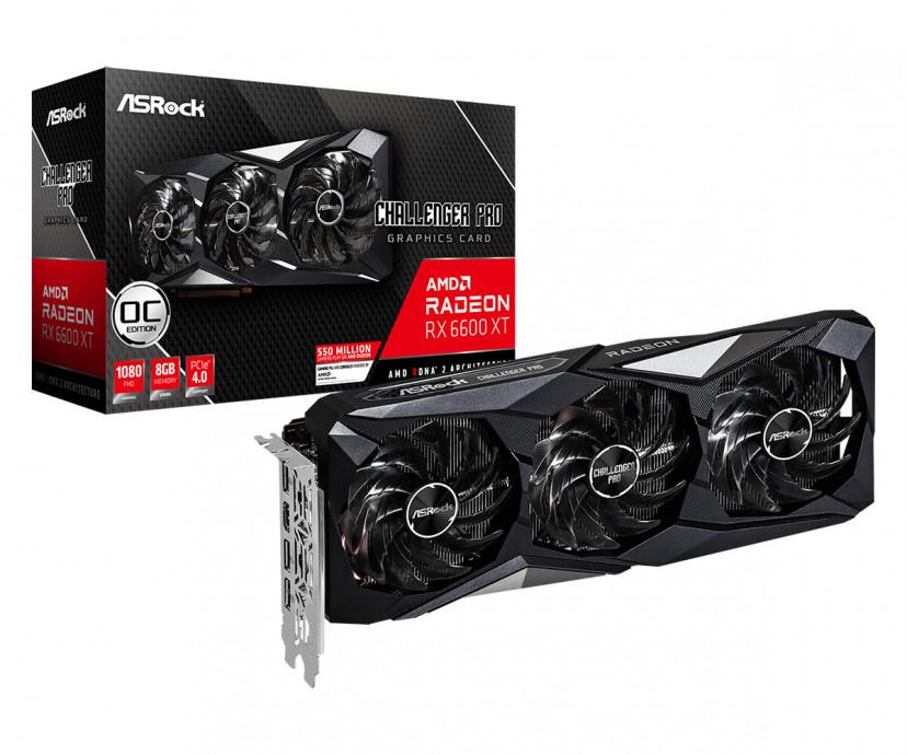 Videokarte ASRock Radeon RX 6600 XT Challenger Pro 8GB OC 0