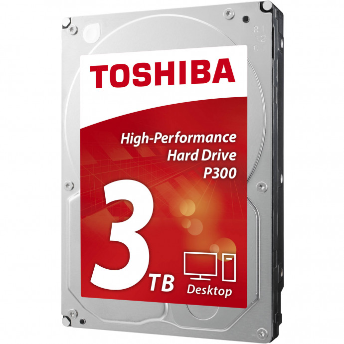 Cietais disks 3TB - Toshiba P300 SATA3 3.5'' 7200RPM 64MB cache 0