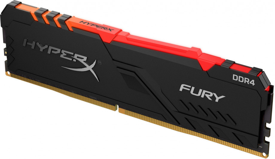Operatīvā Atmiņa Kingston HyperX Fury RGB 8GB 3200MHz CL16 DDR4 0