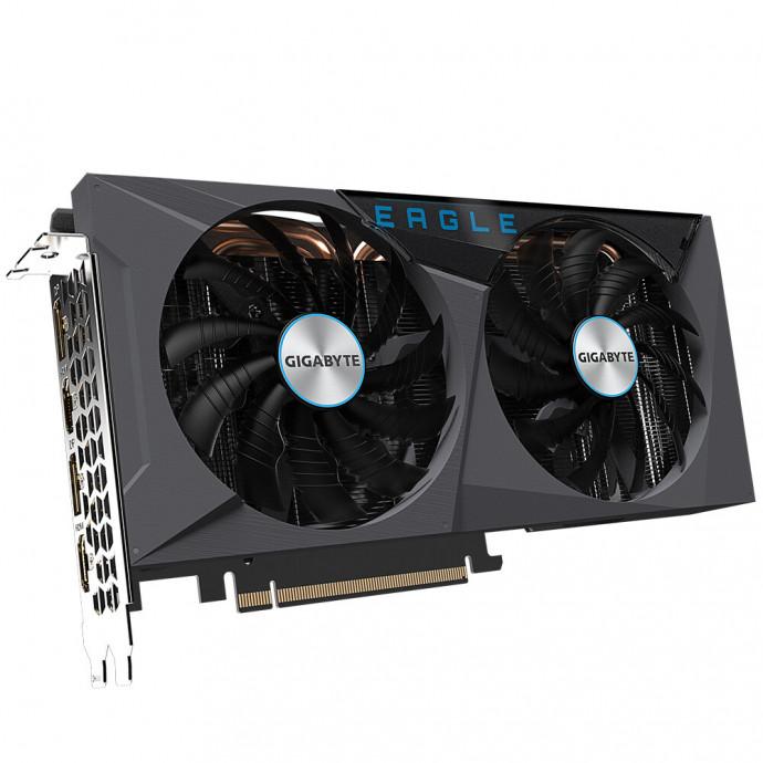 Videokarte Gigabyte GeForce RTX™ 3060 Ti EAGLE OC 8G (rev. 2.0) LHR 6