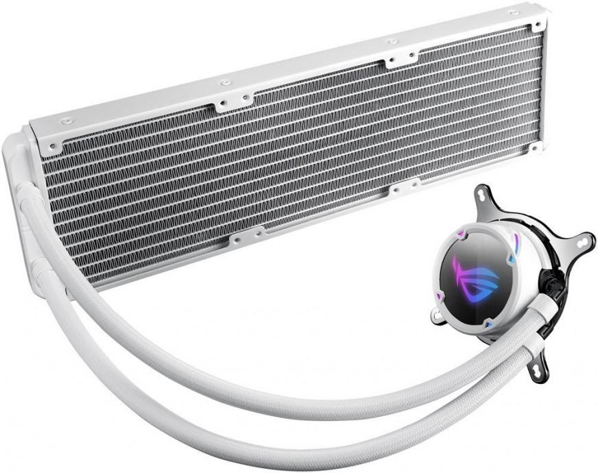 Precesora ūdensdzese Asus ROG Strix LC 360 RGB White 120 mm Water Cooling AIO 2