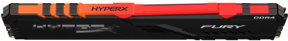 Operatīvā Atmiņa Kingston HyperX Fury RGB 8GB 3200MHz CL16 DDR4 1