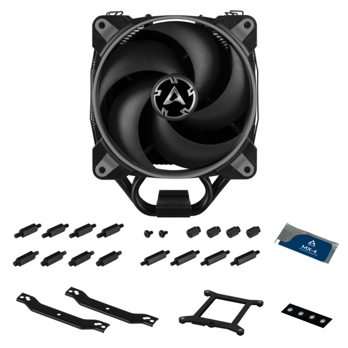 Procesora dzese Arctic Freezer 34 eSports DUO Grey/Black, 200-2100rpm, TDP 210W, 157mm 5