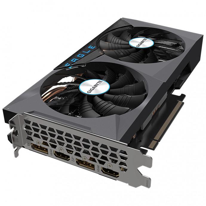 Videokarte Gigabyte GeForce RTX™ 3060 Ti EAGLE OC 8G (rev. 2.0) LHR 4