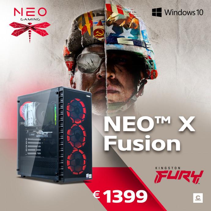 Dators Capital NEO X Fusion /i5-10400F/16GB/RX6600XT/500GB/650W/WF/BT/Windows10Home/ 0