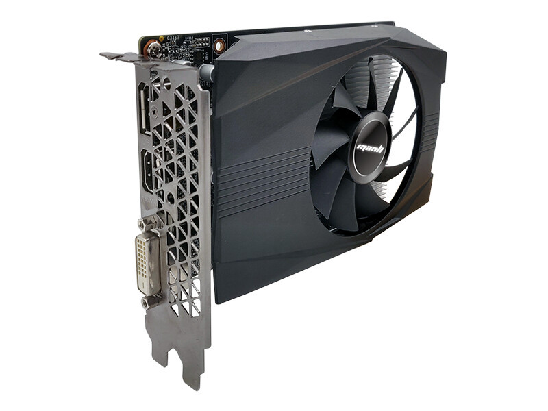 Videokarte Manli GeForce GTX 1650 4GB GDDR6 HDMI DVI 3