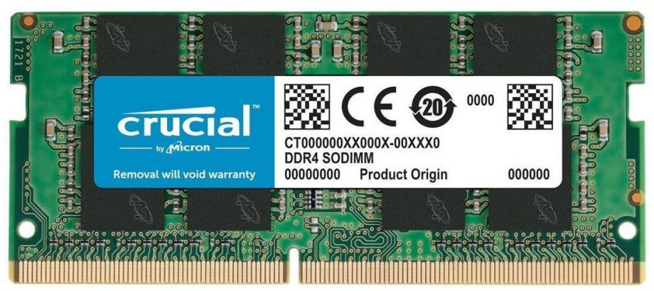 Atmiņa Crucial DRAM 16GB DDR4-2666 SODIMM 0