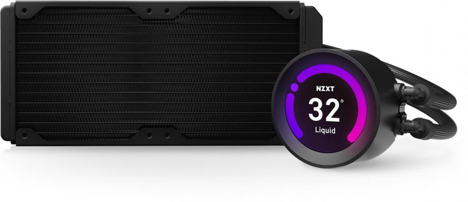 Procesora ūdensdzese NZXT Kraken Z53 - 240mm AIO Liquid Cooler with RGB LED 3