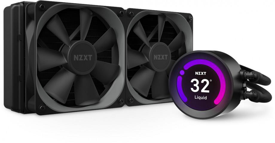 Procesora ūdensdzese NZXT Kraken Z53 - 240mm AIO Liquid Cooler with RGB LED 0