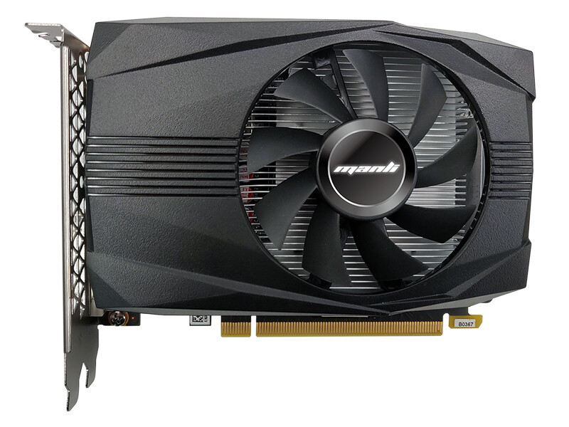 Videokarte Manli GeForce GTX 1650 4GB GDDR6 HDMI DVI 1
