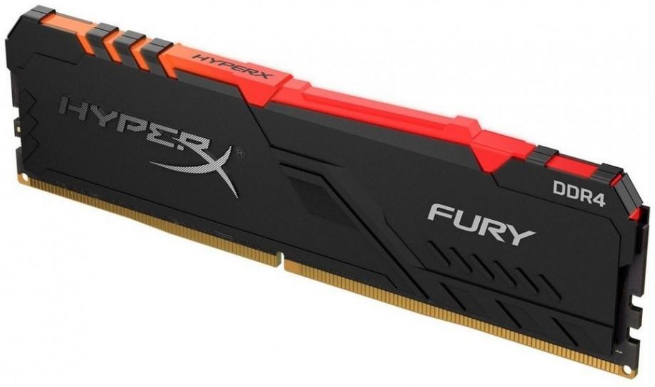 Operatīvā Atmiņa Kingston HyperX Fury RGB 8GB 2666MHz CL16 DDR4 1