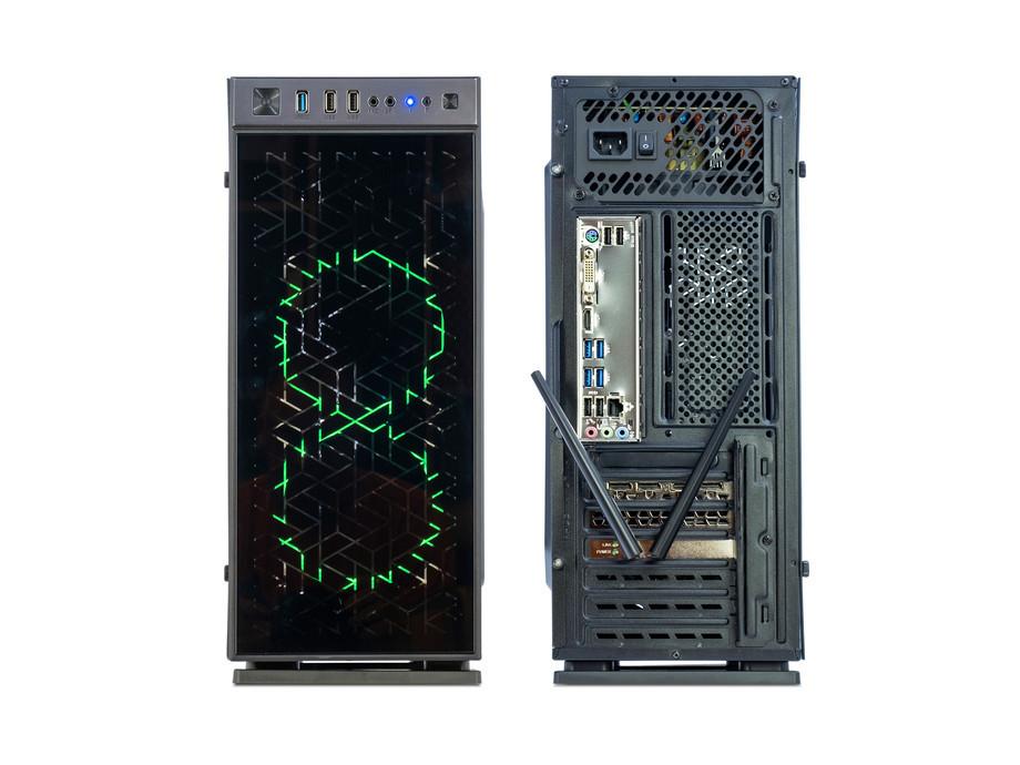 Dators Capital NEO X Phoenix /i3-10100F/16GB/GTX1660/500GB/450W/WF/BT/Windows10Home/X606F 2