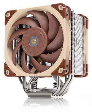 Procesora dzese Noctua NH-U12A (for: LGA1156, AM2, AM2+, AM3, LGA1155, AM3+, LGA2011, FM1, FM2, LGA1150, FM2+, LGA1151, AM4, LGA2066, LGA1200) - aluminium and copper - 158mm height 0