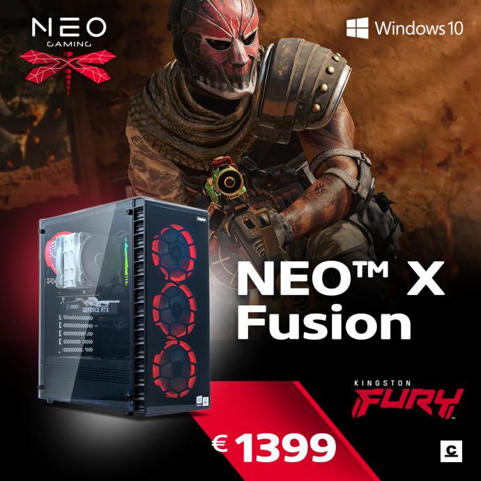 Dators Capital NEO X Fusion /i5-10400F/16GB/RX6600XT/500GB/650W/WF/BT/Windows10Home/ 6