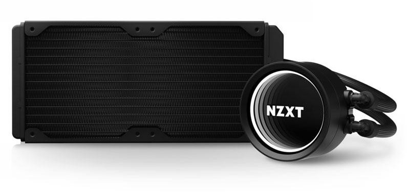 Procesora Ūdensdzese NZXT Kraken X53 - 240mm AIO Liquid Cooler with RGB LED RL-KRX53-01 1