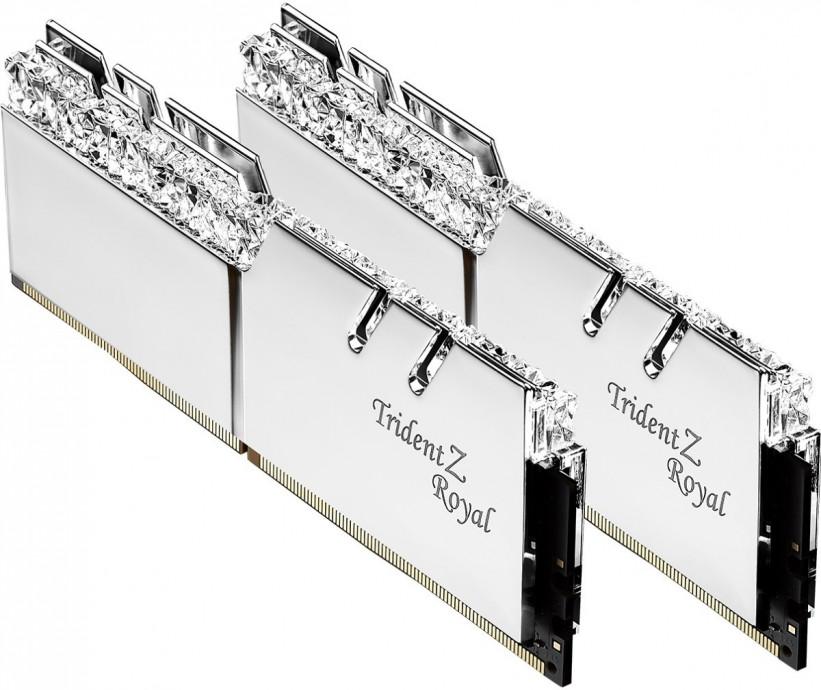 Atmiņa G.Skill Trident Z Royal DDR4 16GB (2x8GB) 3000MHz CL16 1.35V XMP 2.0 Silver 1