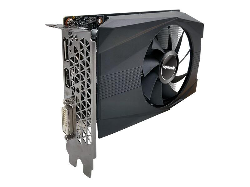 Videokarte Manli GeForce® GTX 1050 Ti 4GB GDDR5 1