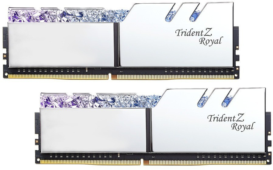 Atmiņa G.Skill Trident Z Royal DDR4 16GB (2x8GB) 3000MHz CL16 1.35V XMP 2.0 Silver 0