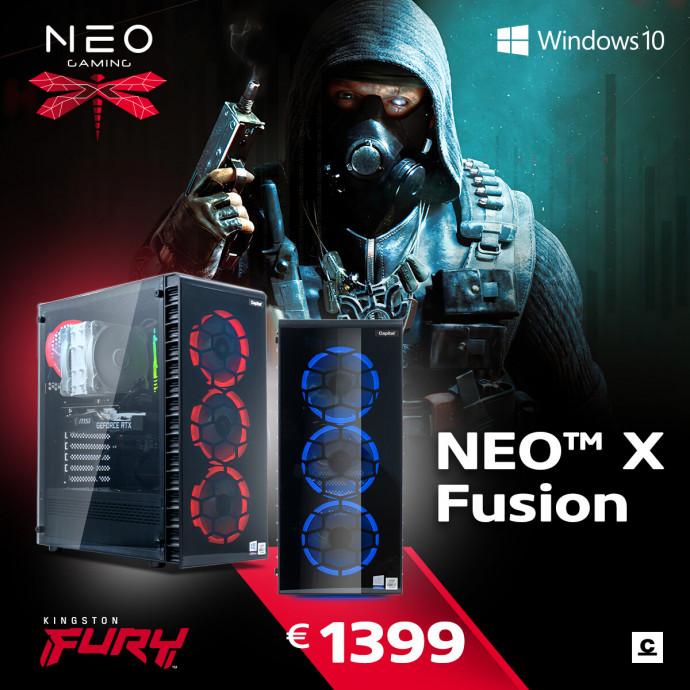 Dators Capital NEO X Fusion /i5-10400F/16GB/RX6600XT/500GB/650W/WF/BT/Windows10Home/ 7