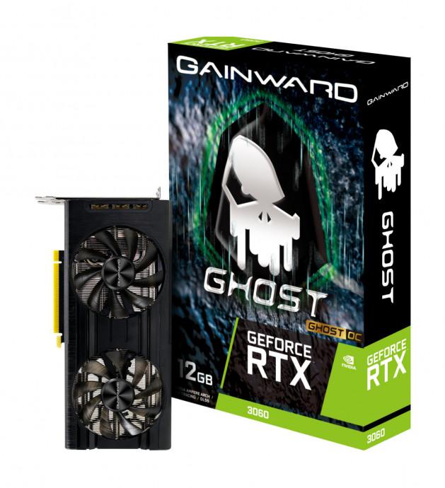 Videokarte Gainward GeForce RTX™ 3060 Ghost OC 0