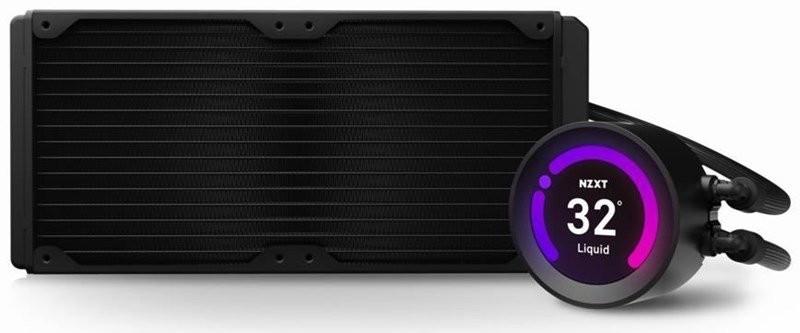 Procesora ūdensdzese NZXT Kraken Z63 - 280mm AIO Liquid Cooler with RGB LED 2