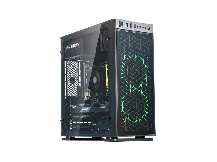 Dators Capital NEO X Phoenix /i3-10100F/16GB/GTX1660/500GB/450W/WF/BT/Windows10Home/X606F 0