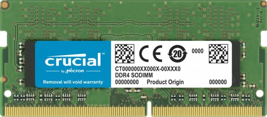 Atmiņa Crucial 32GB DDR4-3200 SODIMM 0