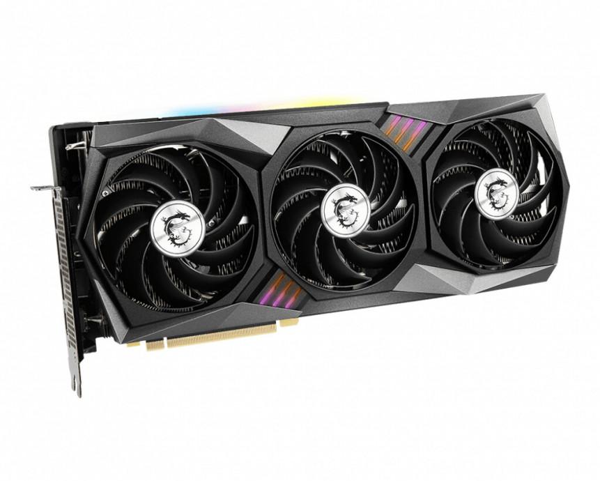 Videokarte MSI GeForce RTX 3070 GAMING Z TRIO 8GB GDDR6 DP HDMI VGA (LHR) 1