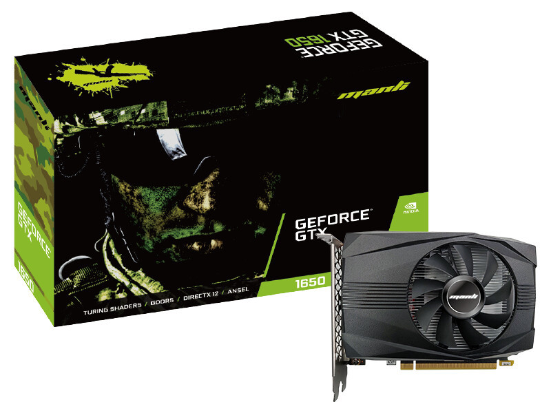 Videokarte Manli GeForce® GTX 1050 Ti 4GB GDDR5 0