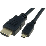 Digitus® HDMI micro un HDMI 1.3 kabelis