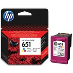 Tintes kasete HP 651 Tri-color
