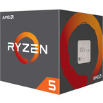 Procesors AMD Ryzen 5 2600, 4.2 GHz, 6C12T, 95W, Wraith Stealth Cooler, BOX