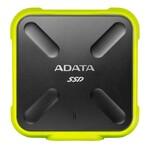 Ārējais cietais disks Adata SSD SD700 256GB, 440/ 430MB/ s, USB3.1, yellow