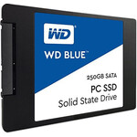 "SSD disks WD Blue, 250GB, 500/ 540 MBytes/ sec, 2.5"" 7mm"