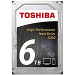 "Cietais disks 6TB - Toshiba X300 SATA3 3.5"" 7200RPM 128MB cache"