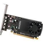 Videokarte NVIDIA Quadro P620 2GB GDDR5 (128 Bit) 4x miniDP, Full height