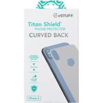eSTUFF TitanShield Apple iPhone X/ Xs Rear Silver