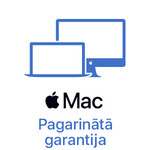 Macbook Air 13'' pagarinātā +1 gada garantija (1+1)